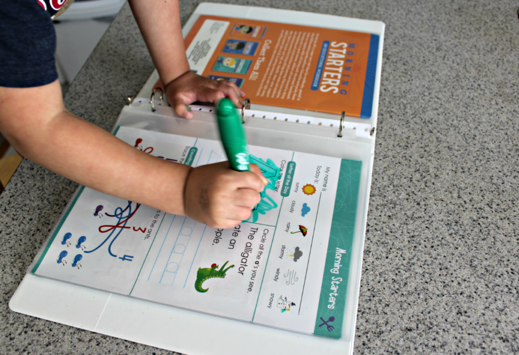 DIY Wipe-Clean Activity Books With Dry-Erase Worksheets - Live Well Play  Together